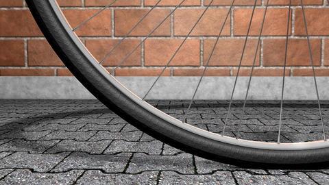 Bicycle wheel Animation