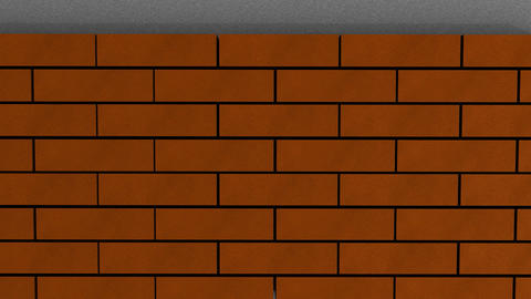 Brick wall Animation