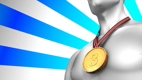 Bronze medal winner Animation