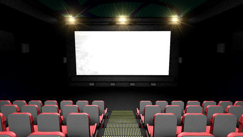 Cinema Hall stock footage