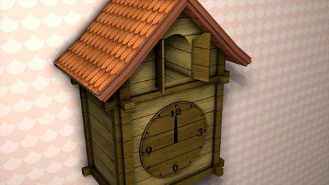 Cuckoo clock Animation