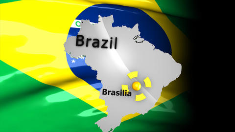 Crisis map Brazil Animation