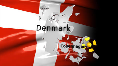 Crisis map Denmark Animation