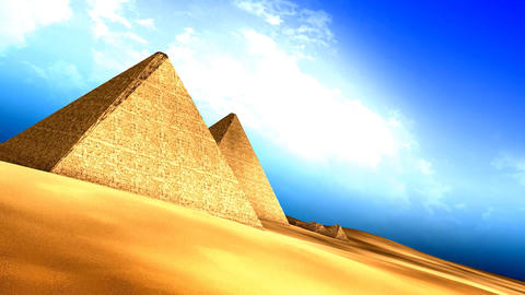 Egyptian pyramids Animation