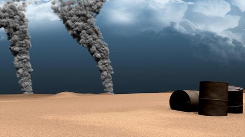 Explosion smokes Animation