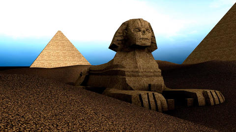 Great Sphnix of Giza Animation