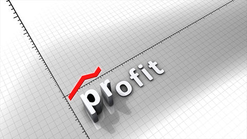 Growing profit Animation