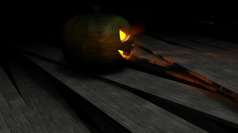 Halloween pumpkin Animation