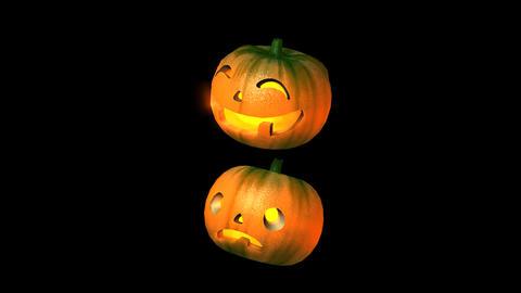 Halloween pumpkin Stock Video Footage