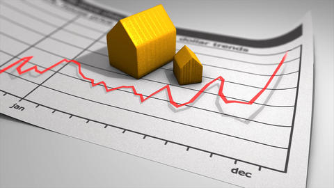 House price chart Animation
