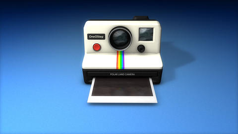 Instant camera Animation