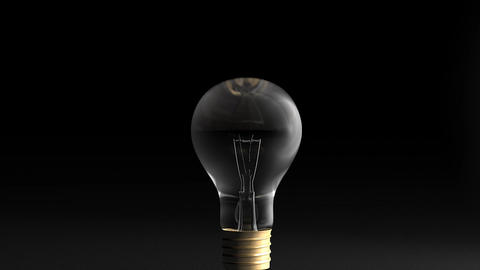 Light bulb Stock Video Footage