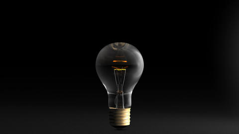 Light Bulb stock footage