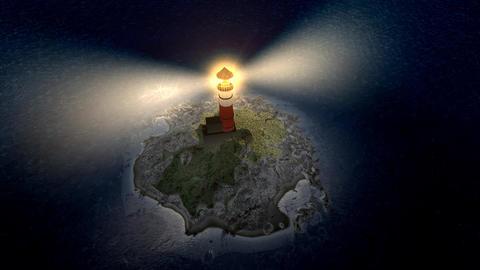 Light house island Animation