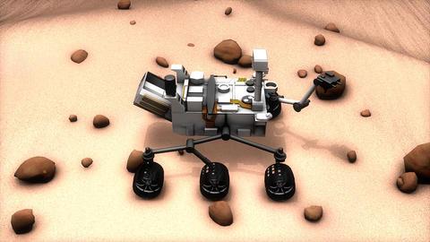 Mars rover Animation