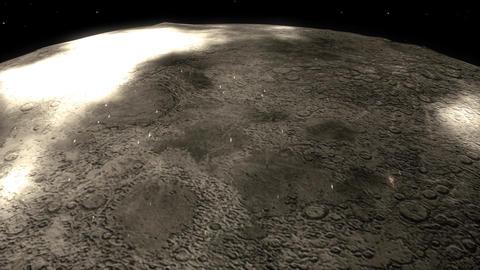 Moon flyover Animation