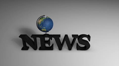 News globe Animation