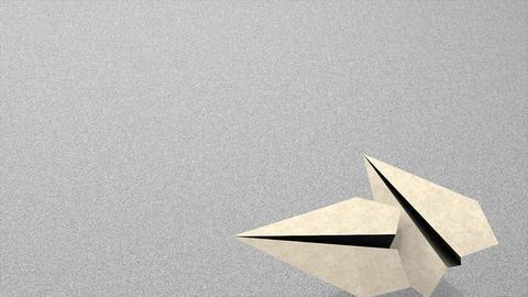 Paper plane Animation
