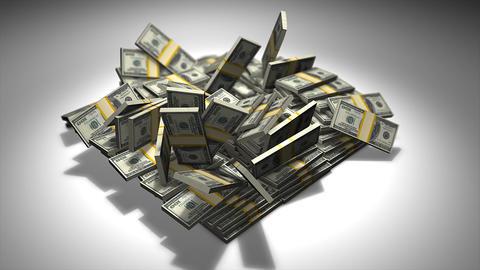 Pile of money Animation