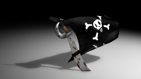 Pirate flag Animation