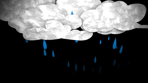 Rain cloud Animation