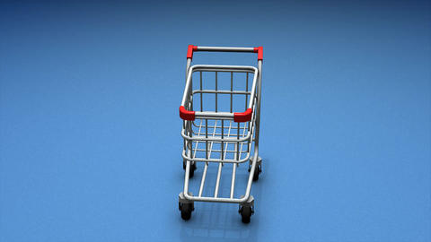 Shopping Cart stock footage