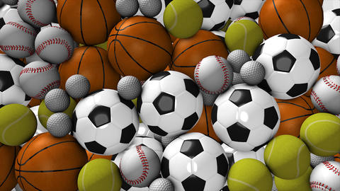 Sports ball Animation