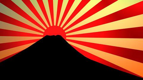 Sunburst effect Animation