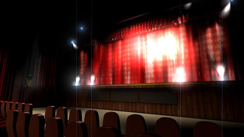 Theater hall Stock Video Footage