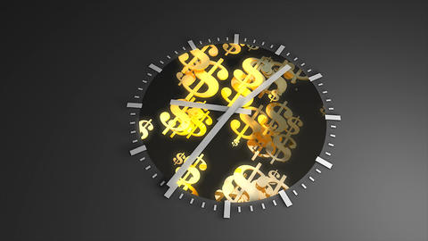 Time And Money stock footage