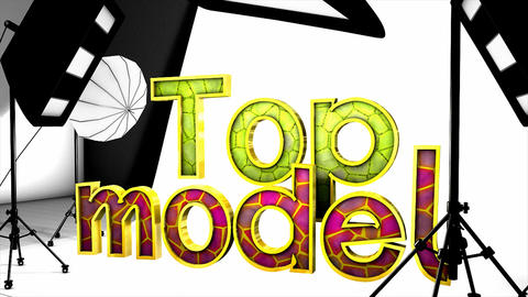Top model Animation