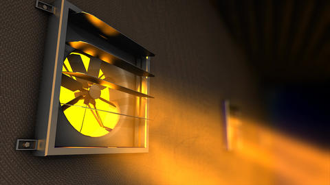 Ventilation Fan stock footage