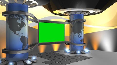 Virtual set Animation