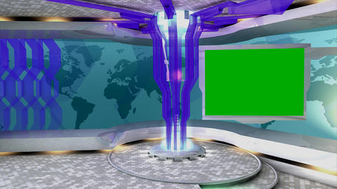 Virtual set 4 Animation