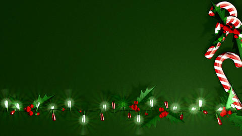 Xmas LED Decoration Light stock footage