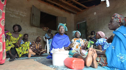 African women Footage