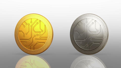 Digital Currency Coins Dark Merge 0