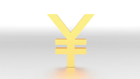 Fall Of Japanese Yen stock footage