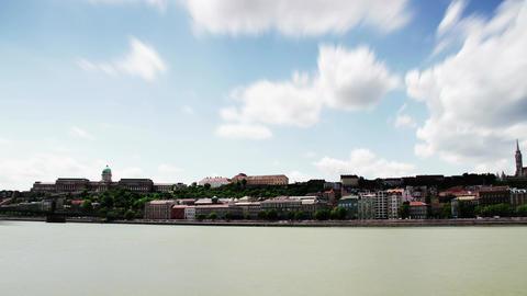 4K Castle of Buda Hungary Timelapse Daytime 1 Footage