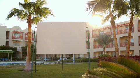 Blank presentation screen Footage