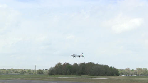 Remote controlled airplane Footage