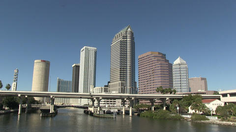 Downtown Tampa HD stock footage