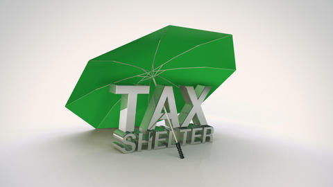Tax Shelter Loop stock footage