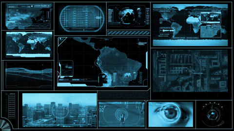 Technology background Animation