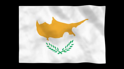 Flag A091 CYP Cyprus Animation
