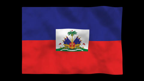 Flag A131 HTI Haiti Animation