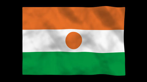 Flag A135 NER Niger Animation