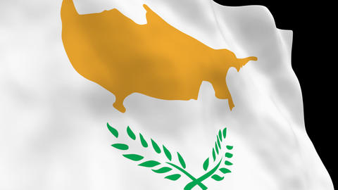 Flag B091 CYP Cyprus Animation