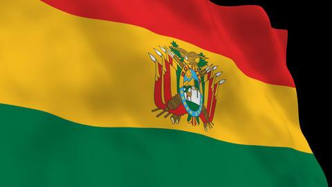 Flag B103 BOL Bolivia Animation