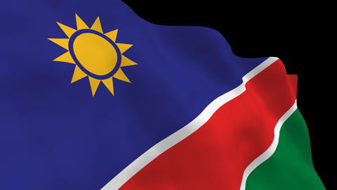 Flag B125 NAM Namibia Animation